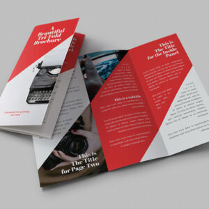 Redline las vegas luxury printing and same day rush services products 3 brochures folded reheart Choice Image